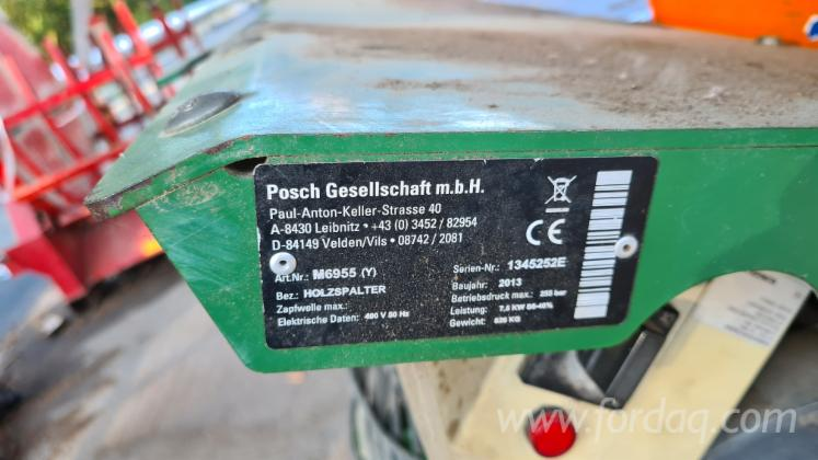 Vend-Fendeuse-%C3%80-B%C3%BBches-Posch-Splittmaster-20-Occasion-2013