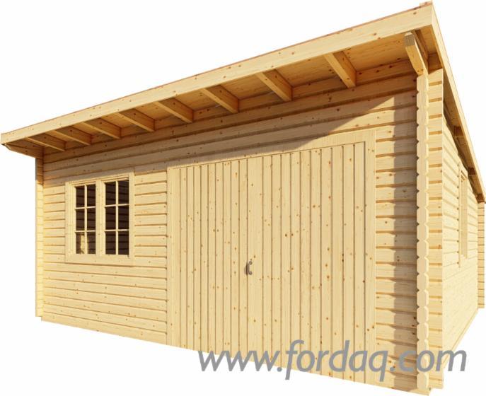 Spruce-Square-Milled-Log
