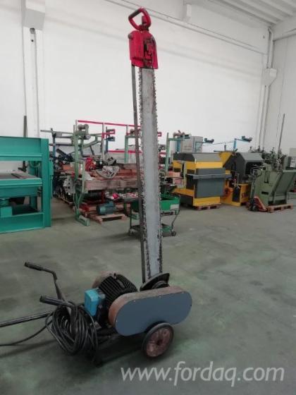 Used-DOLMAR-Tr-1800-1990-Pallet-Blocks-Cutting