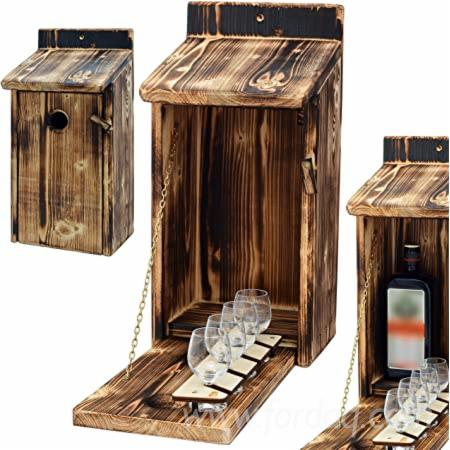 Alcohol-Cage%C2%AE---Wooden-bird-house-with-space-for-a-bottle-of-spirits-and-glass--funny-gifts-for-men