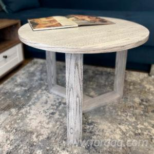 Coffee-Round-Table-with-Wooden-Understand