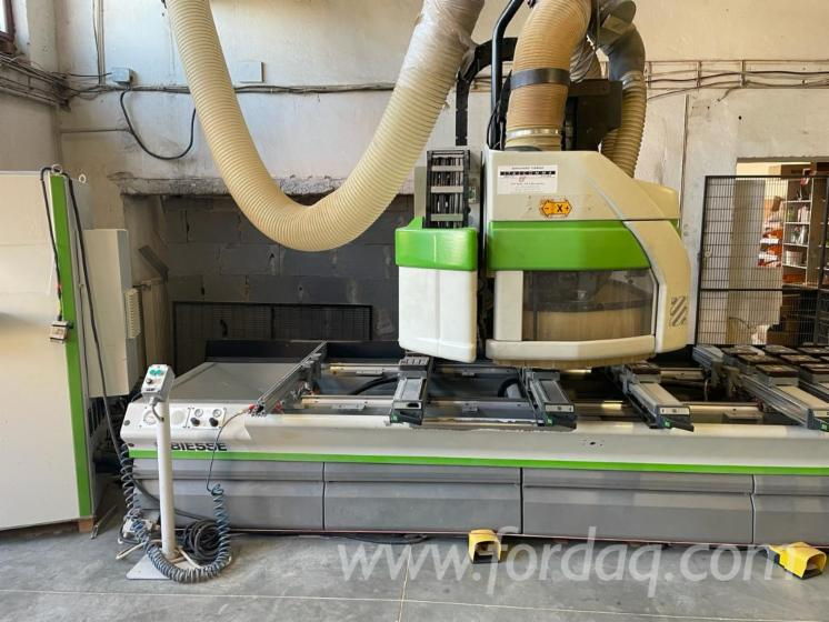 CNC-Centros-De-Usinagem-Biesse-Rover-24-S-Kullan%C4%B1lm%C4%B1%C5%9F