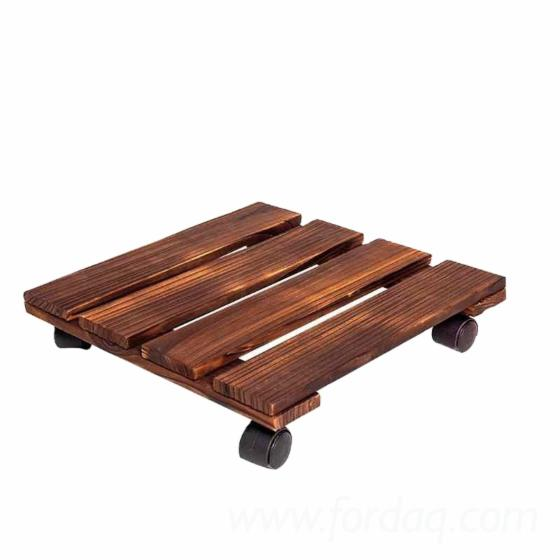 Square-Wooden-Plant