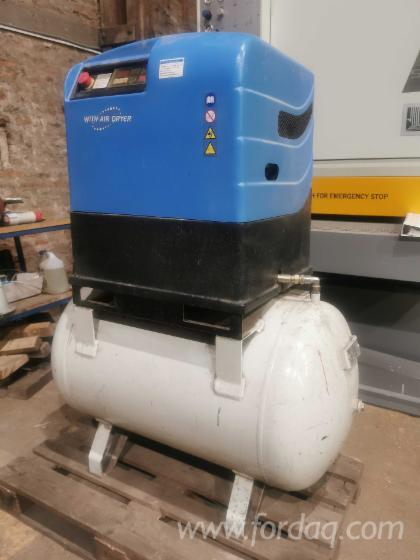 Screw-Compressor-with-Air-Dryer-Schneider-CUBE-5-for-31