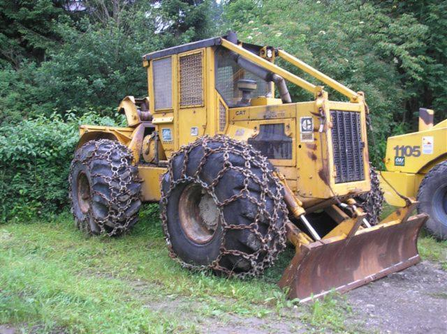 Used CAT 518 1984 Articulated Skidder For Sale Austria