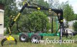 Skidding - Forwarding, Skidder Trailer, 7 - 14to.