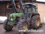 Forstmaschinen Forstschlepper - Gebraucht John Deere 2850 Mit Ritter Forstausrüstung 1994, 9500h Forstschlepper Deutschland