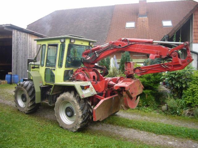 tracteur forestier werner