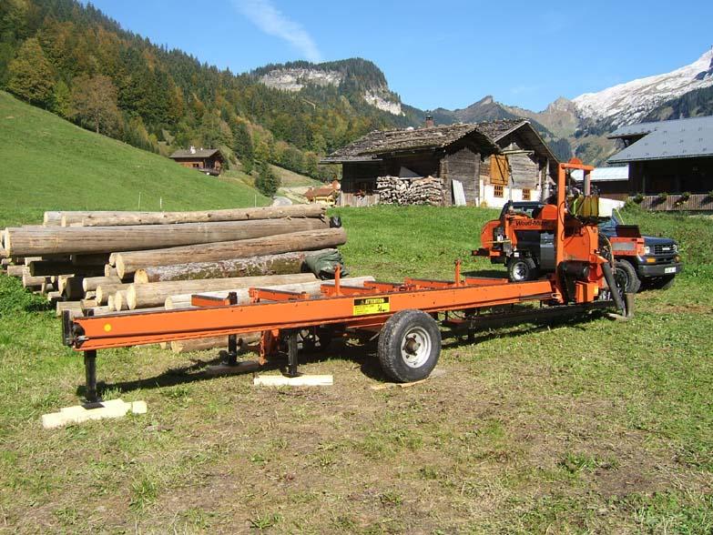 Seghe segheria mobile da foresta wood mizer for Occasioni mobili
