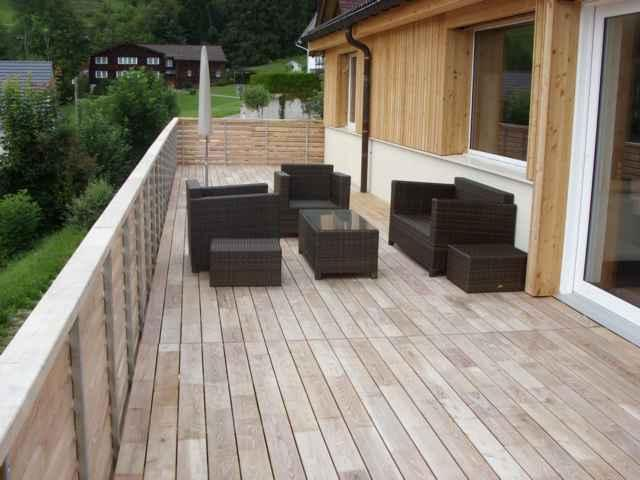 Terrassendielen robinie akazie for Lame de terrasse en robinier