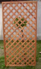 Oak (Japanese Oak), Drvena Rešetkasta Ograda