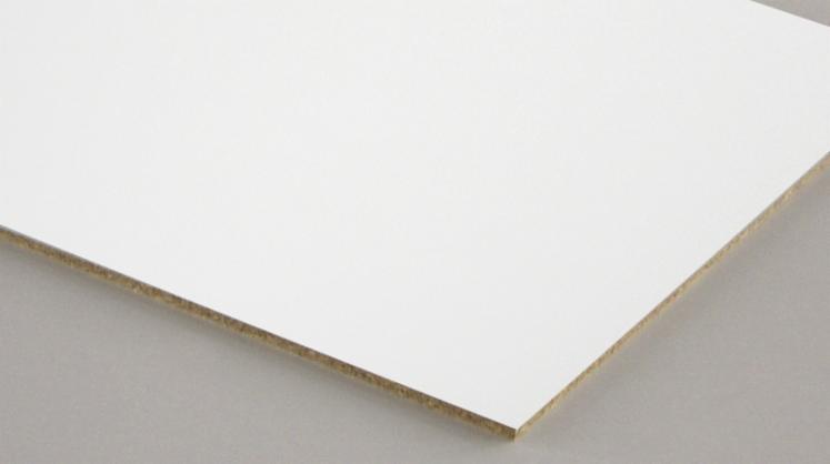 Vend-Panneaux-De-Particules---Agglom%C3%A9r%C3%A9-2-5-25-mm-M%C3%A9lamin%C3%A9-Blanc