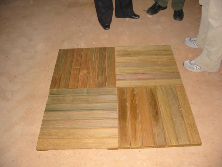 Ipe baldosa de madera de jard n for Baldosas de madera para jardin