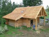 France Supplies - Chestnut  Exterior Cladding from France, LIMOUSIN