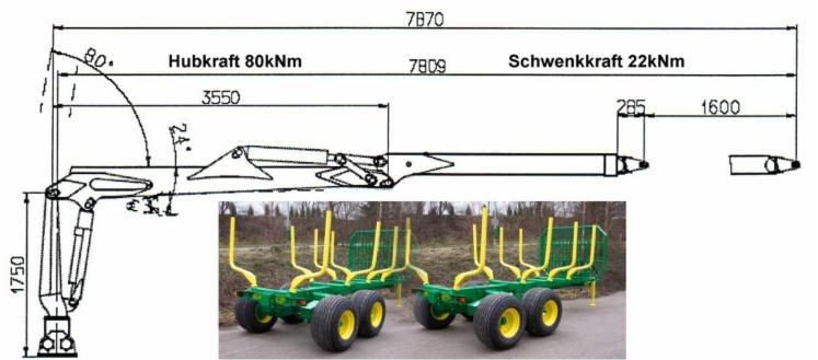 New-Forstkompetenz-RW-120-Skidder-Trailer-in