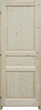 Vrata, Prozori, Stepenice Francuska - Četinari, Vrata, Jela (Picea abies)-Bjelo drvo
