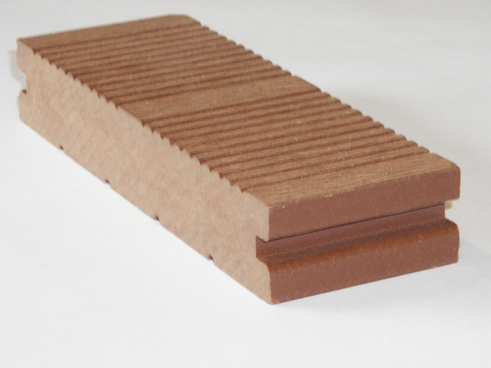 Composite Wood Anti Slip Decking 2 Sides