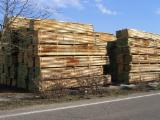 PEFC/FFC Certified Unedged Timber - Boules - PEFC/FFC Oak (European) Boules from France, Franche Comté