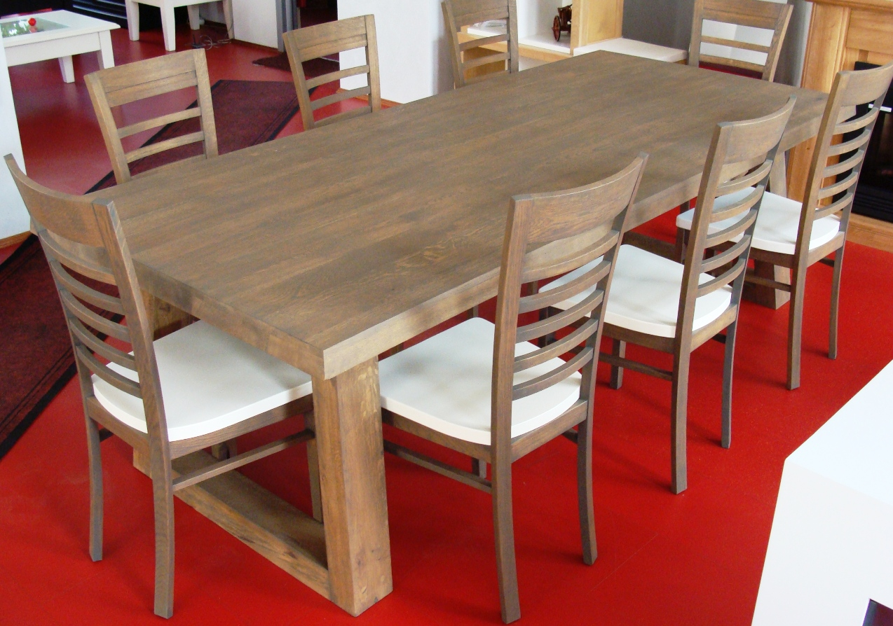 Chaise de salle a manger moderne for Table salle a manger plus chaise