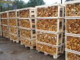 Wholesale Alder Firewood/Woodlogs Cleaved in Estonia