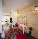 Maritime Pine (Pinus pinaster), Interior Wall Panelling