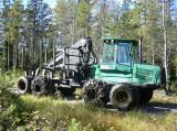 Porteur - Vend Porteur Timberjack  1410 B Occasion 2001, 11900h Suède