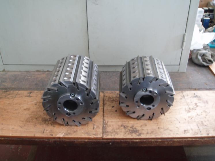 Used Leitz Teste Pialla Con Bloccaggio Hydro 2007 Long