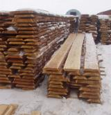 Softwood  Unedged Timber - Flitches - Boules Pine Pinus Sylvestris - Redwood For Sale - Boules, Larch (Larix spp.)