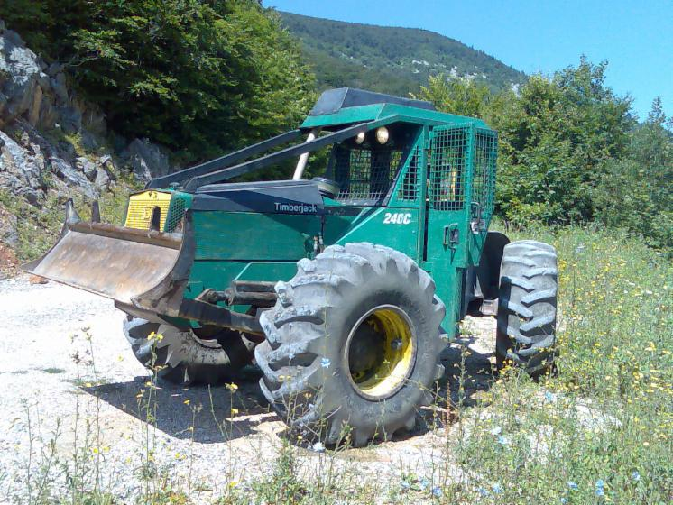 tracteur forestier occasion timberjack