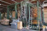 Vend Presse Pour Panneaux De Fibres Ou De Particules Angelo Cremona PLYWOOD COMPOSING AND PRESSING LINE Occasion Italie
