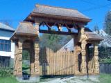 ISO-9000 Certified Garden Products - ISO-9000 Oak Gates from Romania