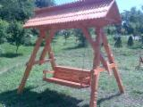 ISO-9000 Certified Garden Products - ISO-9000 Spruce  Garden Bridge from Romania