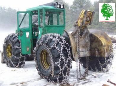 Used Timberjack 240 - B 1995 Articulated Skidder For Sale Germany