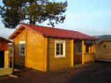 Wood Houses - Precut Timber Framing - We distribute over France , Spain, Portugal , cabins , shelters