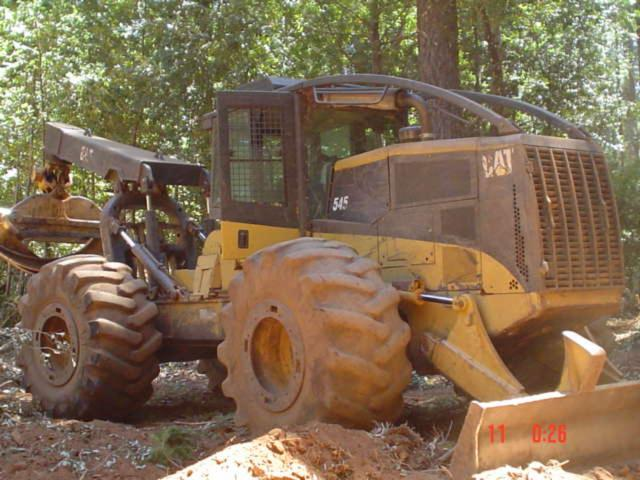 Used CAT 545 2003 , 2003 Grapple Skidder For Sale Canada