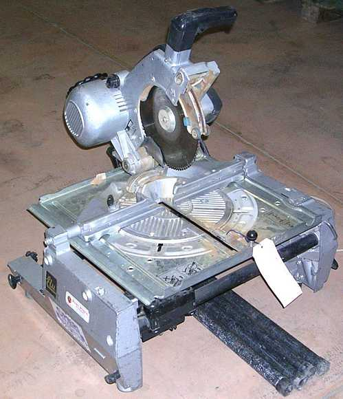 Saws, COMBINED MITRE SAW, ELU
