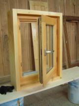 ISO-9000 Certified Finished Products - Spruce (picea Abies) - Whitewood Windows from Romania