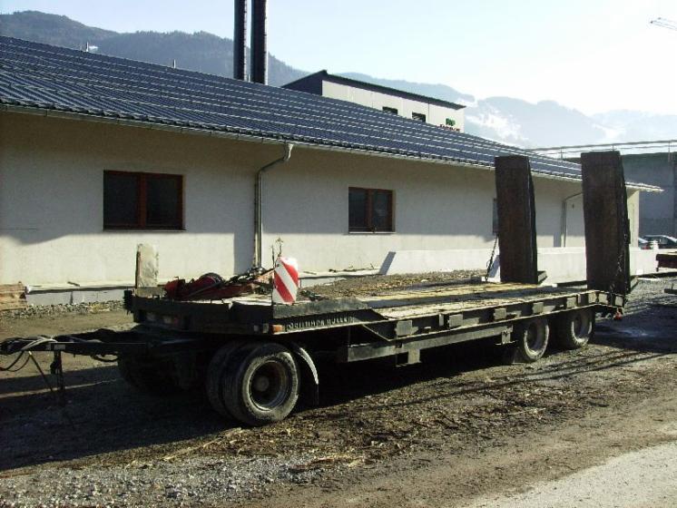 vend remorque surbaiss e porte char schwarzm ller anh ngewagen 04 occasion 1999 autriche. Black Bedroom Furniture Sets. Home Design Ideas