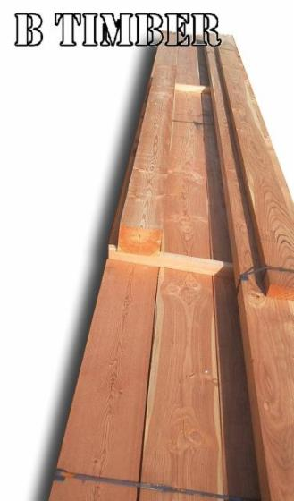 Larch Exterior Cladding from Russia, Siberia