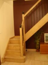 France Finished Products - Oak (European) Stairs from France