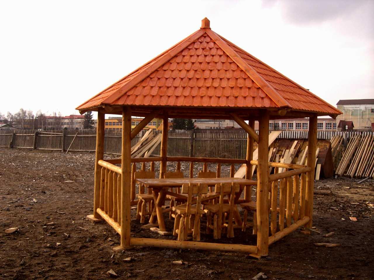 Abeto picea abies madera blanca kiosco puesto for Kioscos de madera baratos