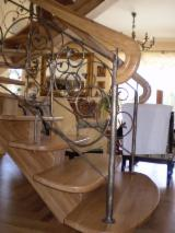 Stairs from Poland - Hardwood (Temperate), Oak (European), Stairs, Poland
