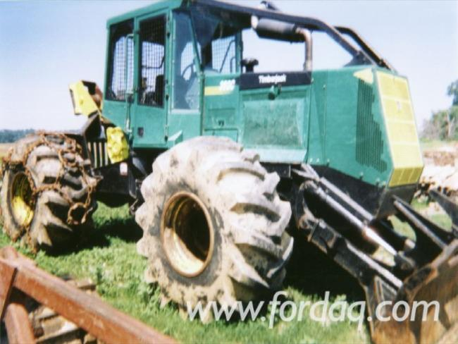 Skidding---Forwarding--Skidder