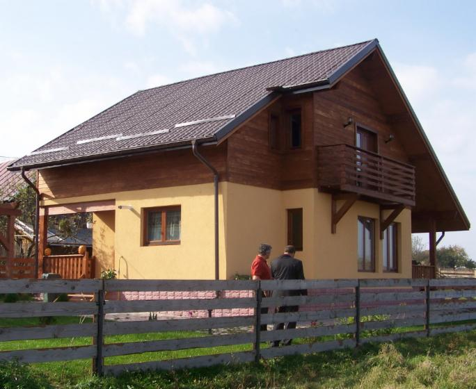 Timber frame house, Fir (Abies alba