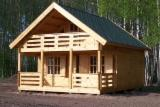 Wood Houses - Precut Timber Framing Pine Pinus Sylvestris - Scots Pine For Sale - Pine/ Spruce Wood Houses