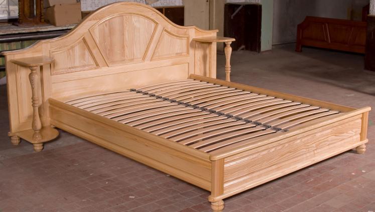 Venta camas dise o madera dura europea fresno blanco ucrania for Camas de diseno