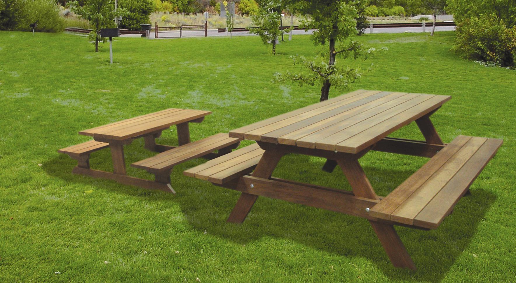 Mesas de jard n tradicional 10 0 30 0 piezas mensual - Mesas de madera de jardin ...