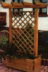 Flower Pot - Planter Garden Products - Spruce (Picea abies) - Whitewood, Flower Pot - Planter, Romania
