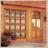 Doors, Windows, Stairs Romania - Asian tropical species, Doors, Meranti, dark red (Nemesu, Seraya red)