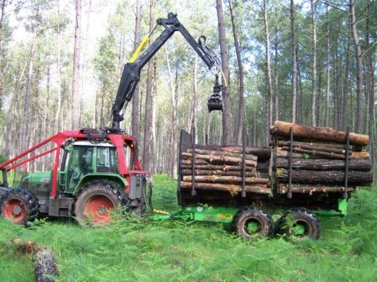 tracteur forestier fendt occasion 2007 vario t714 en. Black Bedroom Furniture Sets. Home Design Ideas